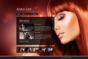 template coiffure free joy studio