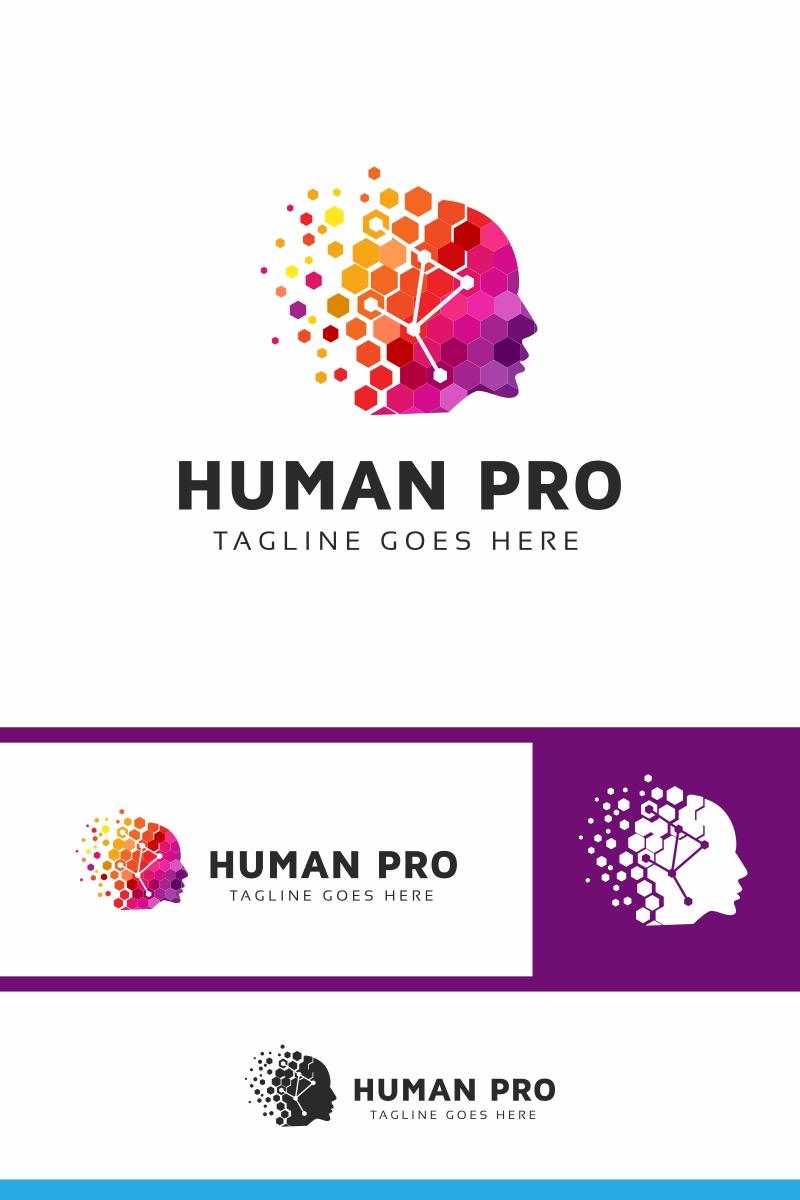 Human Pro Colorful Logo Template
