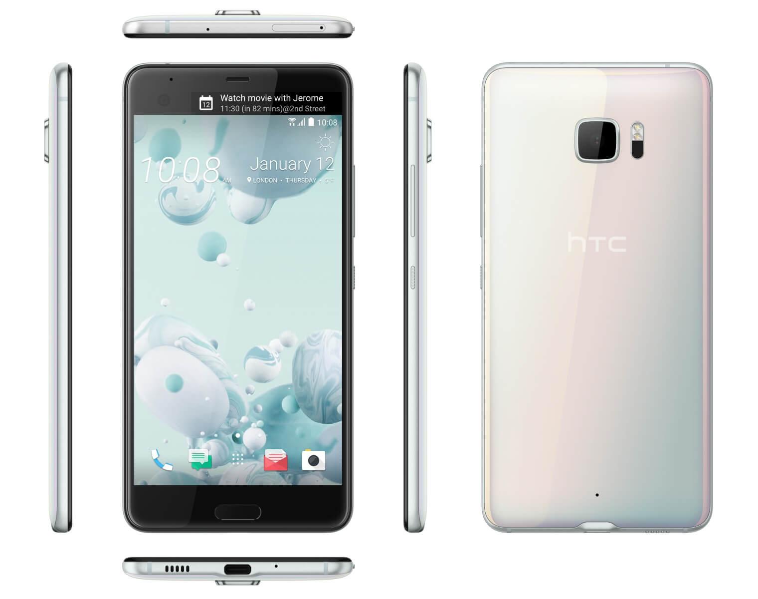 HTC U Ultra - Smartphone mit Dual-Display und Sprachassistent