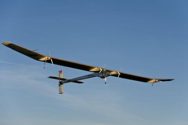 Das Flugzeug Solar Impulse HB-SIA fliegt mit Sonnenenergie. (Foto: Solar Impulse/Fred Merz)