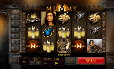The Mummy Slot Game in Malaysia SCR888