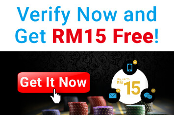 SCR888 Verify and Get RM 15 For Free in iBET Online Casino!