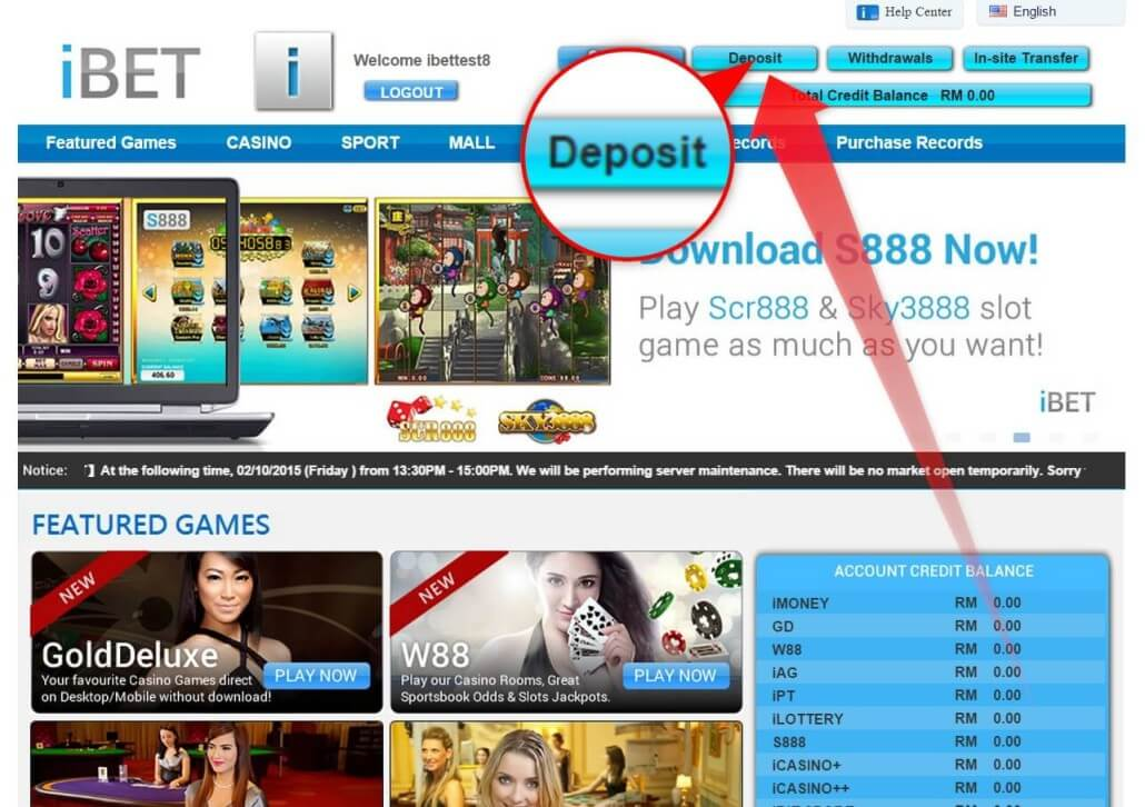 How to Get Free RM50 in iBET SCR888 Slots-1