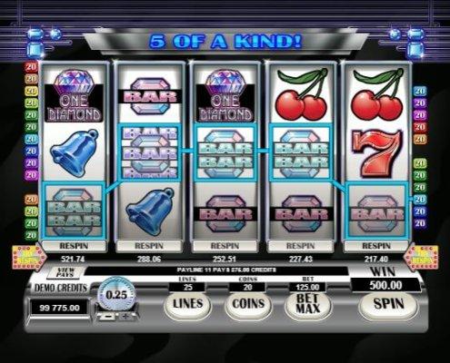 scr888 Casino Retro Reels Diamond Glitz Slot Look for Biggest Diamond!