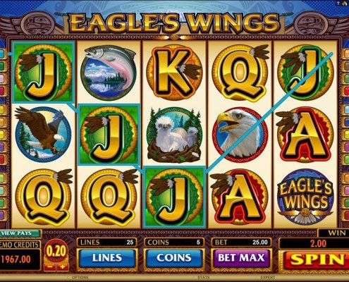 Play SCR888 Eagles Wings Slot Game And Get Bonus!1