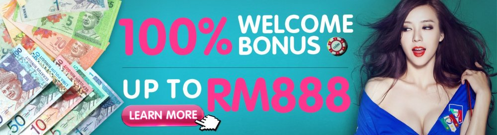 SCR888 New Member 100% Welcome Bonus Up to MYR888!