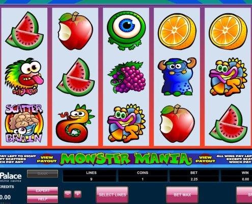 SCR888 Tips : Monster Mania Slot Game