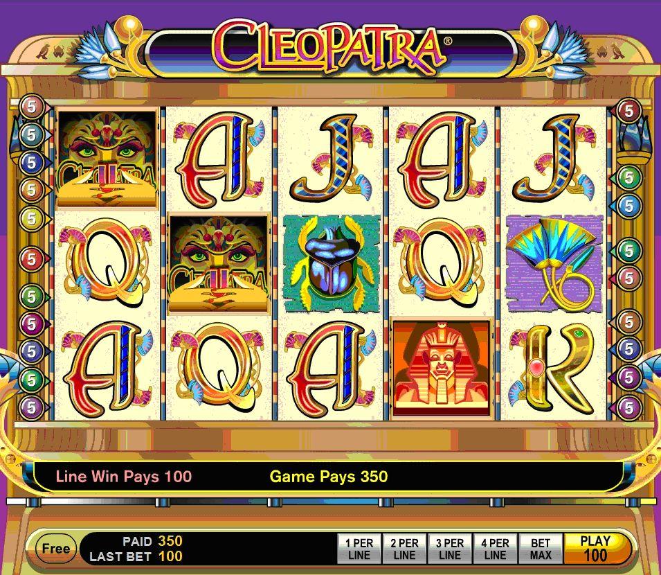 m.Scr888.com Slot Game Cleopatra Free Play