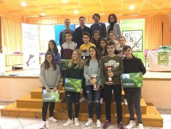Nules,(Castelló), prèvia, 3r Campionat de Scrabble Escolar valencià de Castelló Comarques, 2018