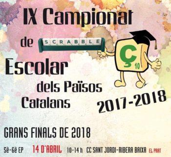 EL PRAT DE LLOBREGAT, GRAN FINAL de Primària, 5è-6è del IX Campionat de Scrabble Escolar dels Països Catalans 2018