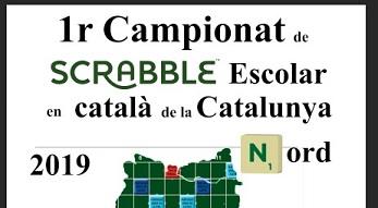 Catalunya Nord,1r Campionat de Scrabble escolar en Català 2018-2019