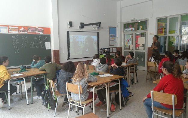 Terrassa,  Escola Maria Auxiliadora (salesianas) taller de Scrabble 5è i 6è, 2019
