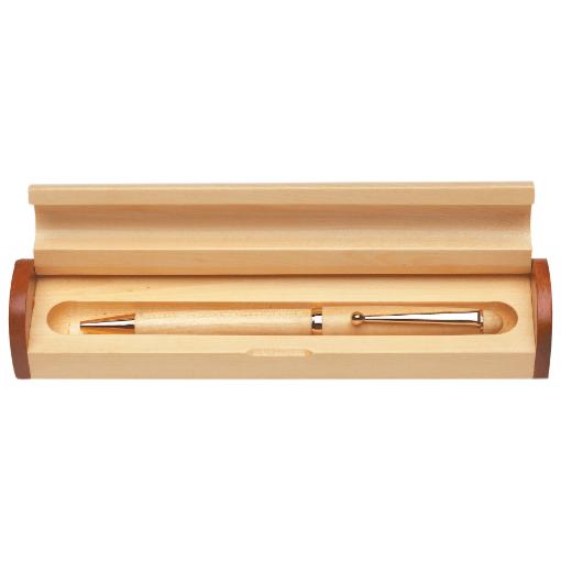 Wooden Pen & Pencil Case