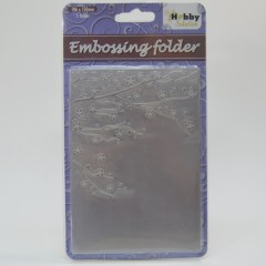 Carpeta embossing Flowering Spring XCut scrapbooking,cardmaking