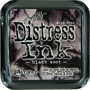 Tinta Distress «Black Soot»