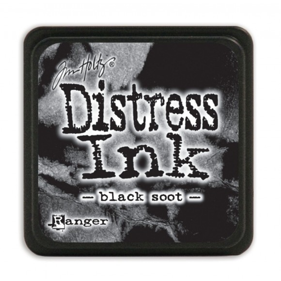 "Tinta Distress ""Black Soot"" MINI"