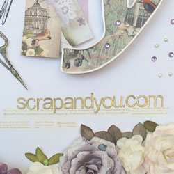 Tienda Scrap and You online de manualidades y Scrapbooking en Barcelona Madrid
