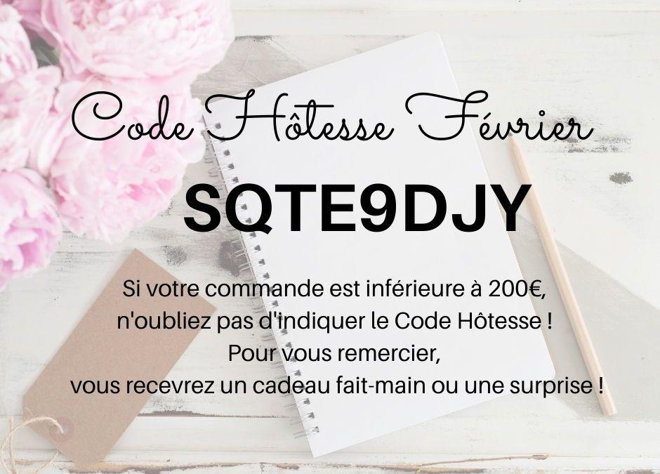 Code Hôtesse Février