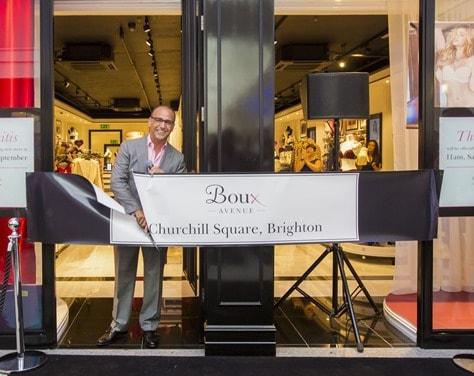 Boux Avenue store opening Brighton. 6 Sept 2014