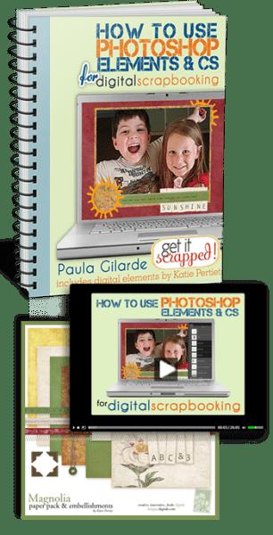 Online Class Photoshop For Digital Scrapbooking Scrap Booking