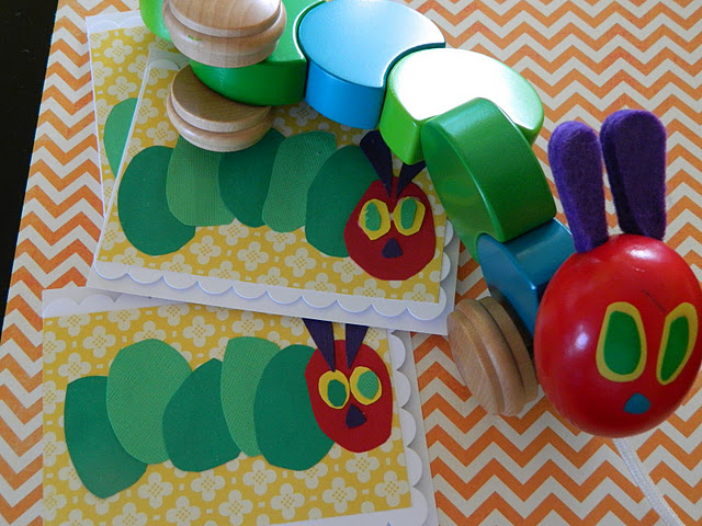 Invitation Idea | Very Hungry Caterpillar – Scrap Booking