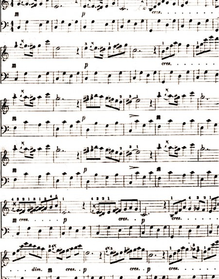 freebie printable music sheet scrap booking