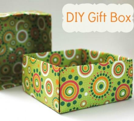 DIY Gift Boxes Tutorial | Diy gift box, Homemade gift boxes, Diy ... | 396x440
