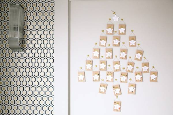 Mini Envelope Advent Tree