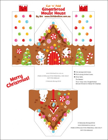 picture relating to Gingerbread House Printable referred to as Freebie 6 Printable Gingerbread Space Models S Scheduling