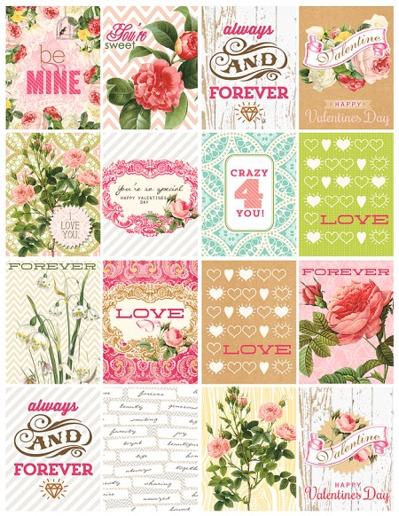 Free Valentine printable from Webster's Pages