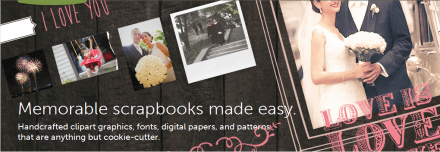 Resources for Scrapbookers from Creative Market
