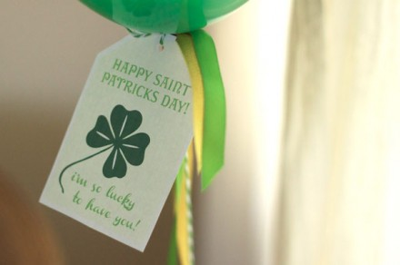 Lucky I have you free st. patrick's day printable from cake events blog