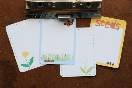 Free Spring Project Life Cards from Wild Olive