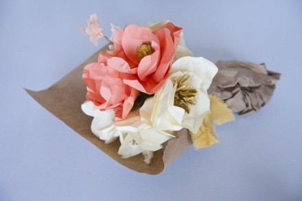 Paper Flower Bouquet for Mother's Day