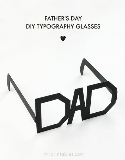 Free fathers-day-printable-glasses from Mr. printables