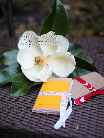 Tutorial | DIY Purse-Sized Travel Journal