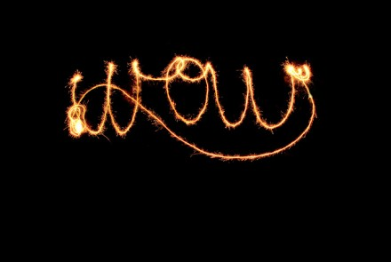 Tutorial-photographing sparklers at The Work is Getting to Me