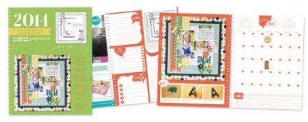 2014 SCT Scrapbooking Planner and Sketch Calendar