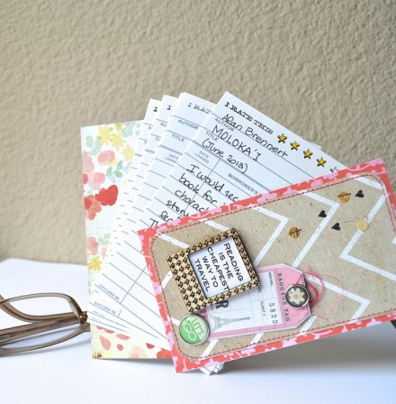 Tutorial | Summer Reading Log Mini Book