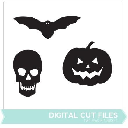 Freebie - Halloween Cut Files from Two Peas in a Bucket
