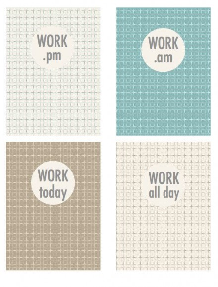Freebies - A Variety of 3x4 cards for Project Life by Scrapbook printables