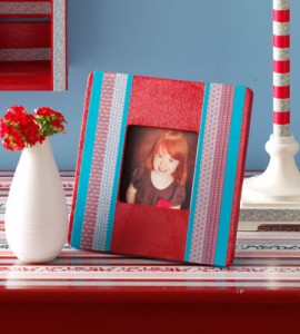 Tutorial - Duct Tape Photo Frame