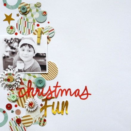 Inspiration du Jour - Christmas Fun by Re Moni