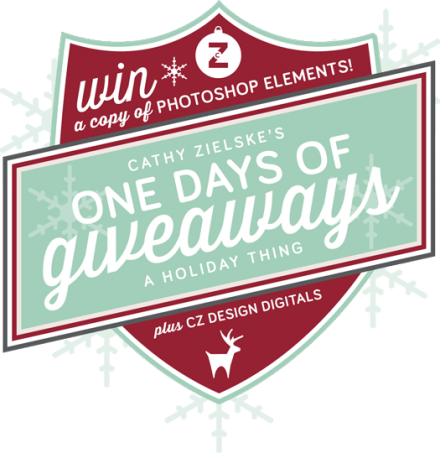 One Day Giveaway of Photoshop Elements from Cathy Zielske