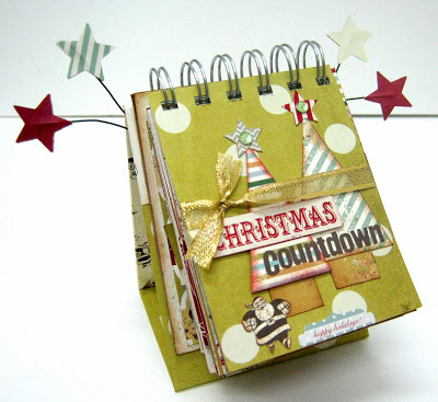Tutorial - Christmas Countdown Calendar by Einat Kessler