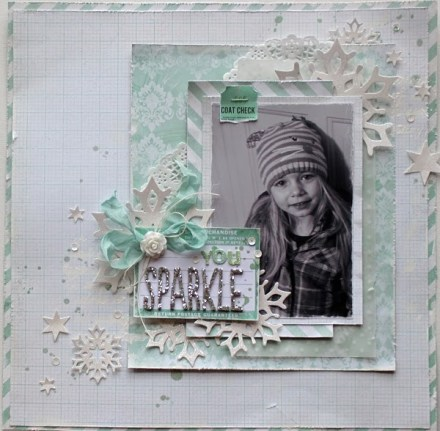 Inspiration du Jour - You Sparkle by Sarah Bargo