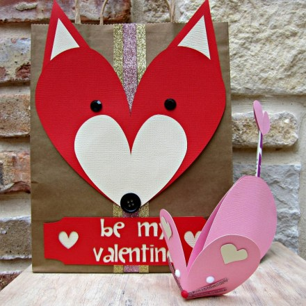 Animal Valentine DIY by Morena's Corner