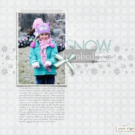 Inspiration du Jour - Snow Bombed by Rachel Alles