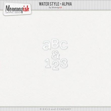 Freebie - Water Style Alpha by Mommyish