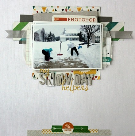 Inspiration du Jour - My Snow Day Helpers by heyheyMandyKay